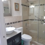 3d tiles and mosaic bathroom in Jamaica Creative Building Finishes