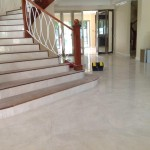 Indoor porcelain tile flooring in Jamaica