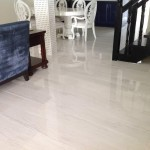 White porcelain floor tile Jamaican home
