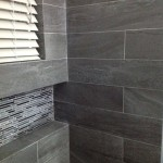 grey shower wall tiles Jamaican home