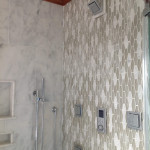 mosaic bathroom shower wall tile - jamaica
