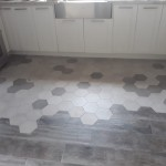 wood look and hexagon floor tiles in Jamaica