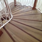 wood tile flooring in Jamaica staircase