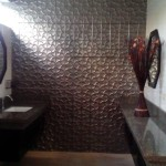 3D effect wall tile