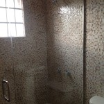 Bathroom mosaic tiles in Jamaica 1
