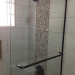 bathroom wall tiles in Jamaica mosaic