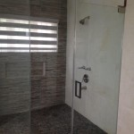 ceramic bathroom tiles in Jamaica travertine