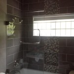 dark wall tiles in jamaica bathroom 1