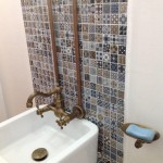 mosaic ceramic wall tile jamaica powder room