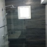 Gray wood tile mosaic Jamaica Creative Building Finishes
