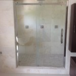 travertine tile Jamaican shower