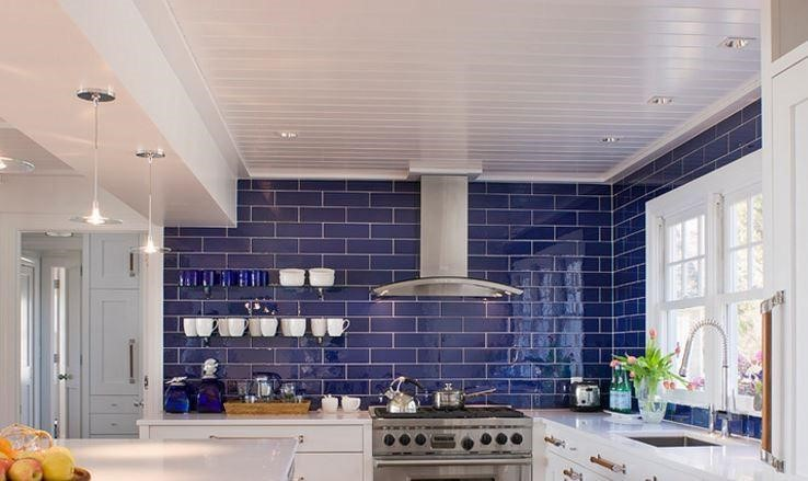 Blue Subway Tile Jamaica