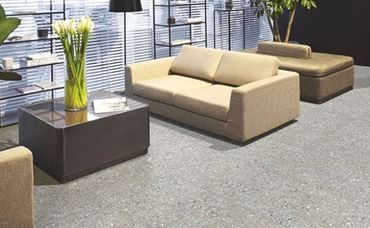 terrazo look floor tile Jamaica