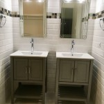 Jamaican home subway mosaic bathroom tiles