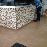 Creative floor and wall tiles Jamaica Commercial Project