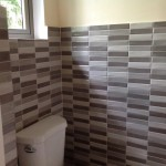 Jamaica bathroom wall tiles ceramic grey