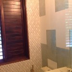 Jamaica bathroom wall tiles white ceramic