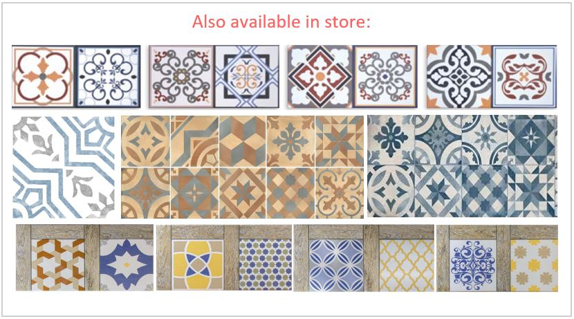 patterned color in-store