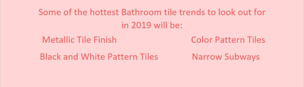 tile trends list