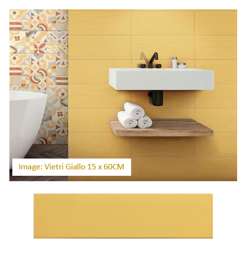 beach yellow wall tiles