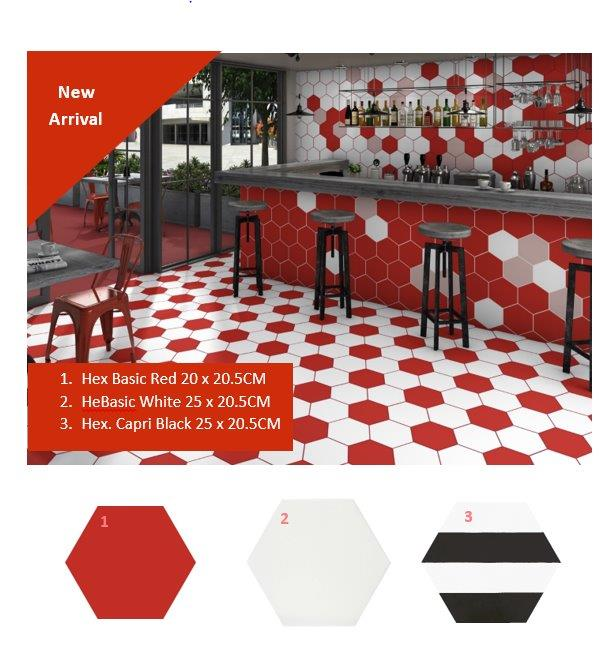red hex tiles in Jamaica