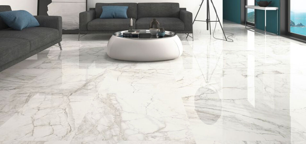 Make a Statement - Marble look tiles
